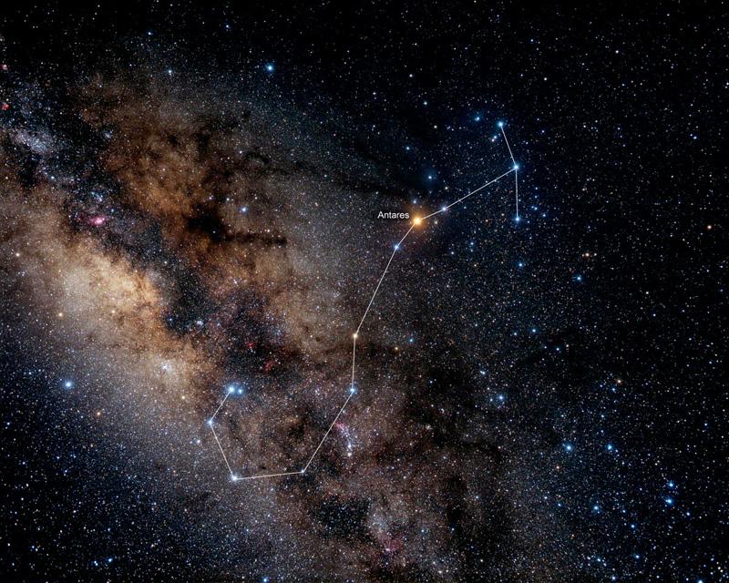 یک دیوانه یک آسمان 1 - سحابی عقرب - سایت شخصی محسن الهامیان