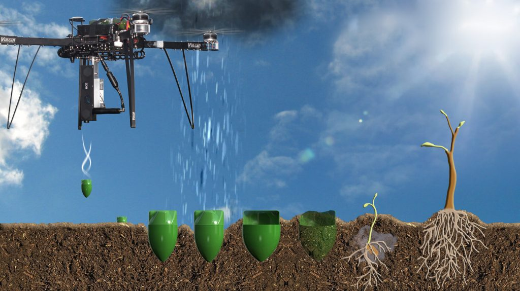 استارتاپ درختکاری Biocarbon Engineering - آشنایی با تکینگی فناوری - محسن الهامیان - Mohsen Ehamian